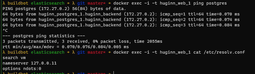 Docker容器内域名解析